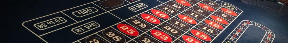 Roulettebordet, med inside- och outside bets!