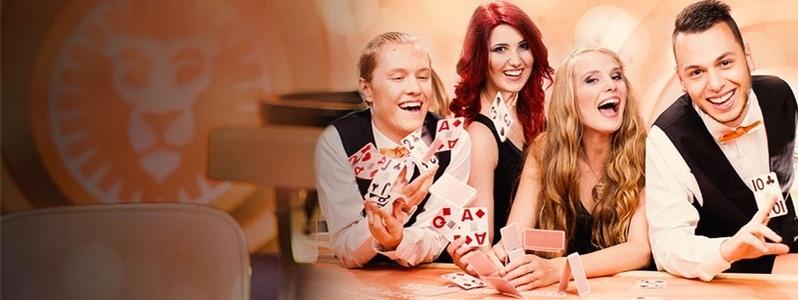 Hos LeoVegas får du bästa live casino bonus