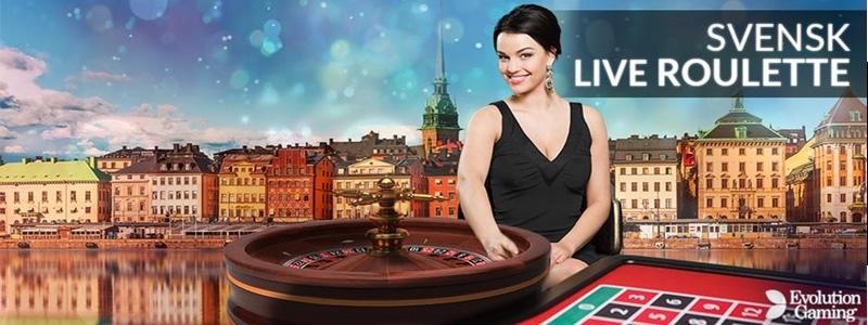 Roulette med svensktalande dealers hos LeoVegas
