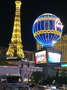 Las Vegas Strip med massor av casinon