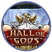 Hall of Gods slot från NetEnt