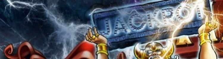 Progressiva Jackpots i Hall of Gods!