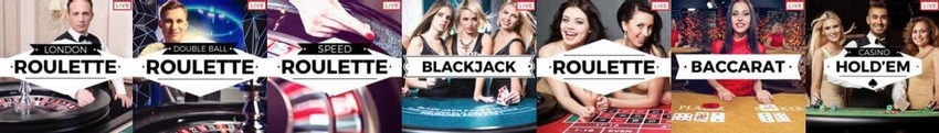 Roxy Palace erbjuder Live Casino!