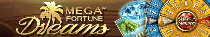 Mega Fortune Dreams hos Paf Casino