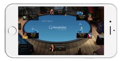 Spela poker och spel i mobilen med NordicBet Casino