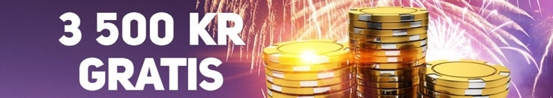 Få 3500 kronor gratis hos Roxy Palace Casino!