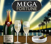 Free spins på Mega Fortune hos Betsson