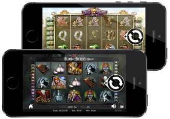 Spela med free spins i mobilen