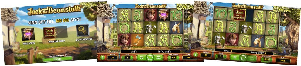 Jack and the Beanstalk casino spel