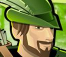 Spela på Robin Hood hos Paf
