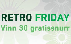 Retro Friday - Vinn 30 free spins hos Paf