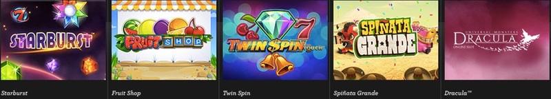 Spel hos Vinnarum Casino
