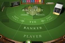 Baccarat hos Carat Casino