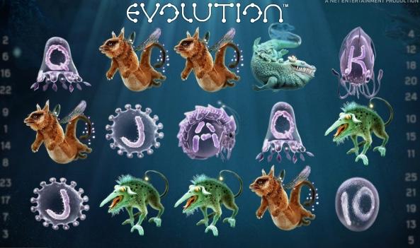 Videosloten Evolution
