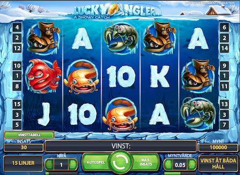 Sloten Lucky Angler från Net Entertainment