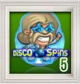 Free spins på Disco Spins hos Unibet
