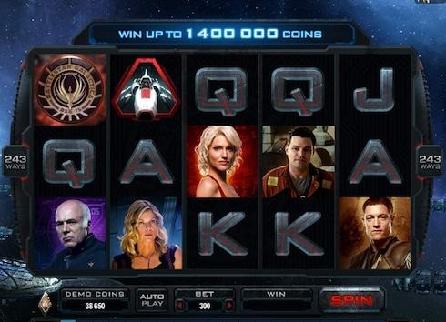 Videosloten Battlestar Galactica