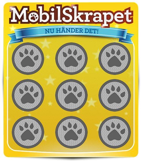 Hos Leo Vegas kan du spela Mobilskrapet där du har chans att vinna 1 miljon kr