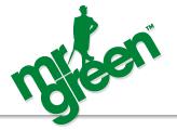 Mr Green Casino fick pris