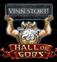 Bli Betsson miljonär på Hall of Gods