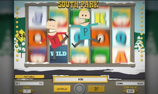 South Park från Net Entertainment
