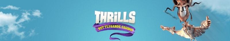 Thrills casino, bonus och free spins!