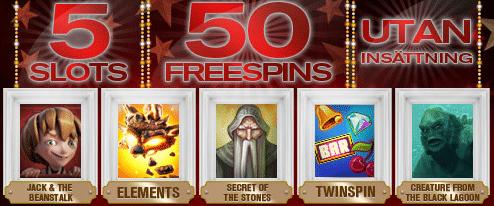 50 freespins hos redbet