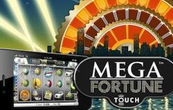 Free spins på Mega Fortune i mobilen
