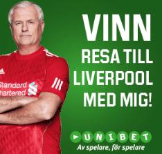 Vinn Liverpool-resa i Unibets Live Casino