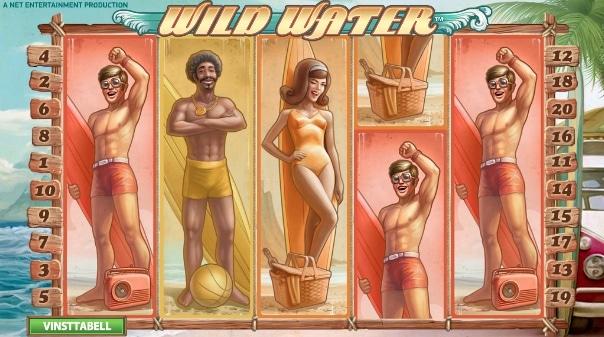 Gå till Betsafe och kolla in sloten Wild Water