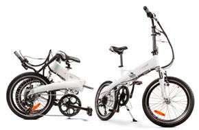 Vinn el-cykel hos Paf
