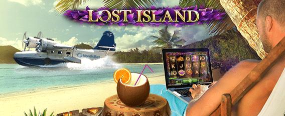 Spela Lost Island hos NordicBet