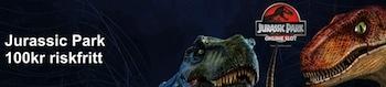 Besök NordicBet och läs mer om den riskfria kampanjen på Jurassic Park