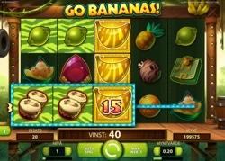 30 free spins på Go Bananas!