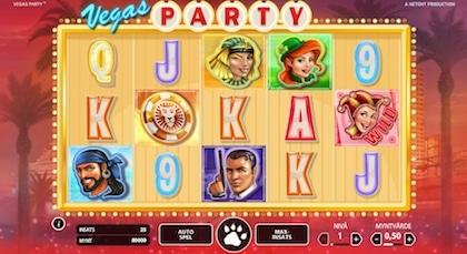 Testa Vegas Party hos Leo Vegas