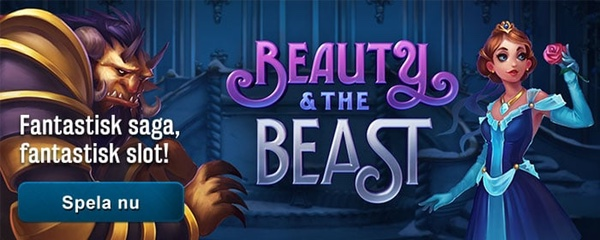 Spela Beauty and the Beast hos SveaCasino