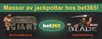 Spela jackpottspel hos bet365