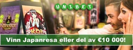 Tävla hos Unibet