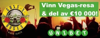 Tävla om resa till Las Vegas hos Unibet