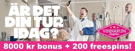 Hämta nätets största bonus hos vinnarum