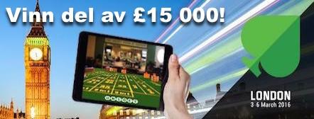 Tävla i Unibets Casino Challenge