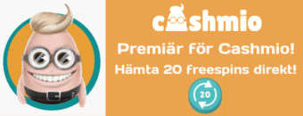 Få freespins hos Cashmio
