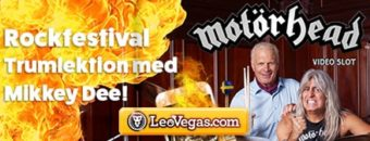 Motörhead kampanj hos LeoVegas
