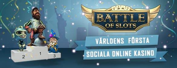 Spela Battle of Slots hos videoslots.com