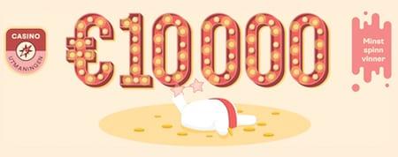 Tävla i casinoutmaningen hos Casumo