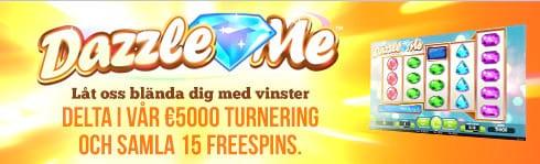Dazzle Me: €5000 turnering hos Paf