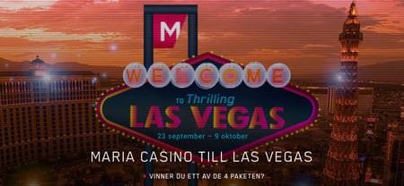 Las Vegas resa med Maria Casino