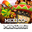 Extra free spins i Mexico måndag hos Vinnarum