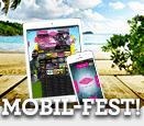 Gå till Vinnarum och ta del av kampanjen mobilfest