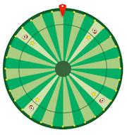 Spela på Wednesday Wheel hos Paf